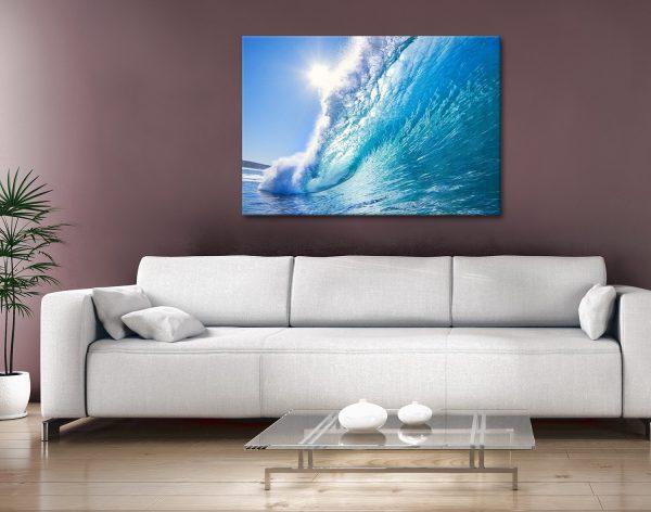surf haze Canvas Art