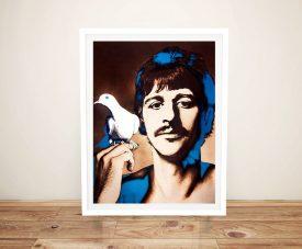 Framed Ringo Starr Music Icons Pop Art Print