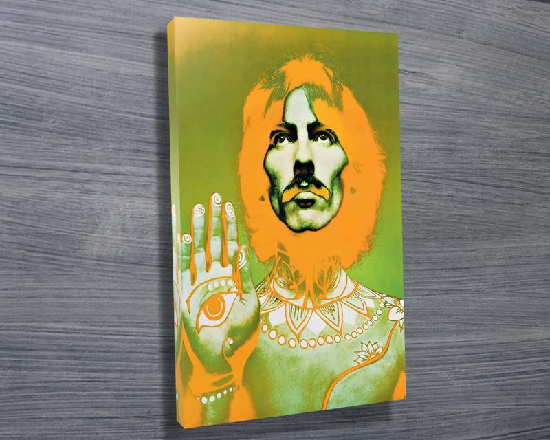 George Harrison Beatles Pop Art Wall Canvas Australia