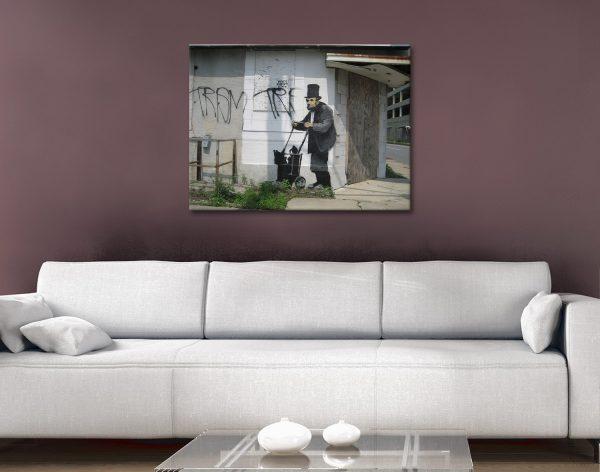 Buy Amazing Banksy Prints Unique Gift Ideas Online