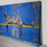 Banksy Graffiti Leopard Wall Art Print
