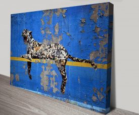Banksy Graffiti Leopard Wall Art Print