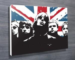 Oasis pop art