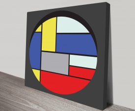 Geometric 10 Artwork on Canvas