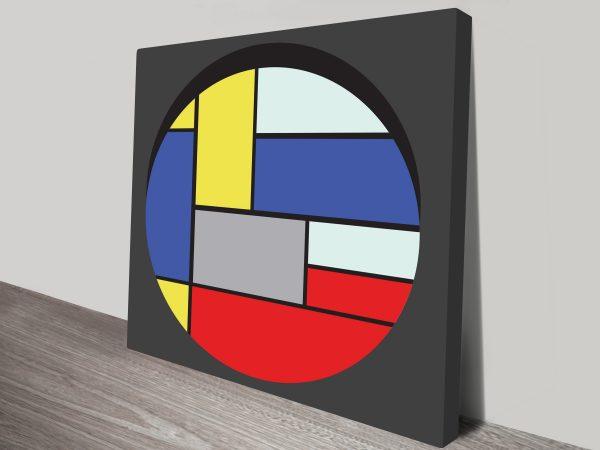 Geometric 10 Artwork on Canvas