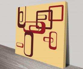Geometric 20 Canvas Wall Art