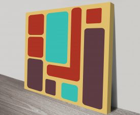 Geometric 7 Wall Artwork on Canvas
