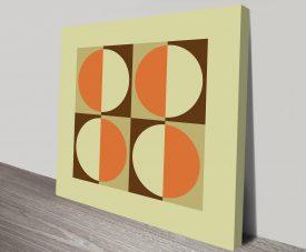 Geometric Art 12 Artwork on Canvas Print