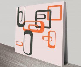 Geometric Art 28 Canvas Prints Australia