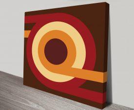 Geometric Art 5 Canvas Print Australia