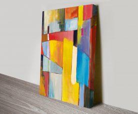 The Bridge Abstract Canvas Print Australia