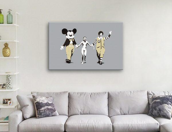 Buy Controversial Banksy Art Cheap Online