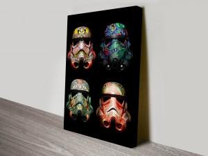 4 Stormtrooper Helmet Art