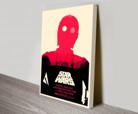 C3PO Star Wars Poster
