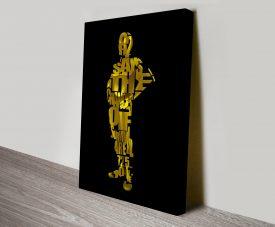 C3PO Typographic Art