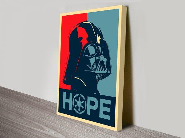 Buy a Darth Vader Propaganda Poster Print
