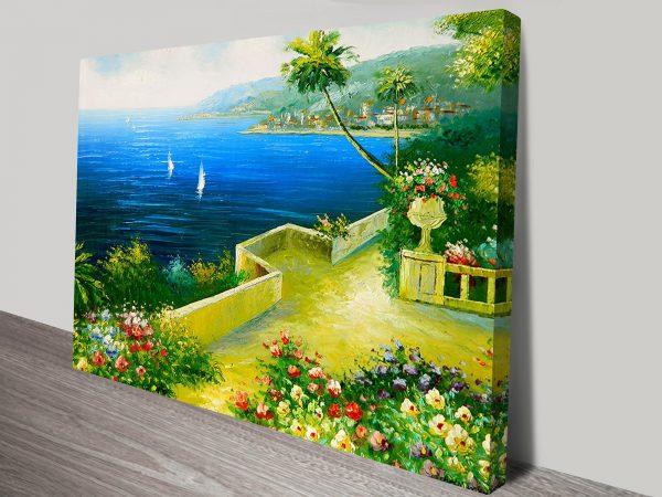 Flower Garden Wall Art Print