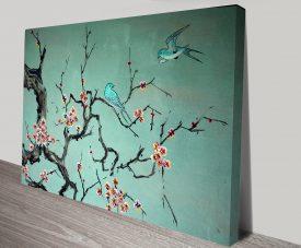 Korean Traditional Art on Canvas Print