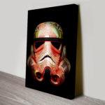 Painted Stormtrooper 3 Canvas Art Pictures Au