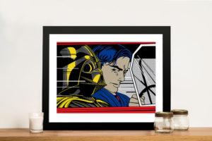 Darth Vader Lichtenstein Wall Art Prints Online Australia