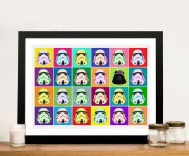 Star Wars Pop art Framed Wall Artwork