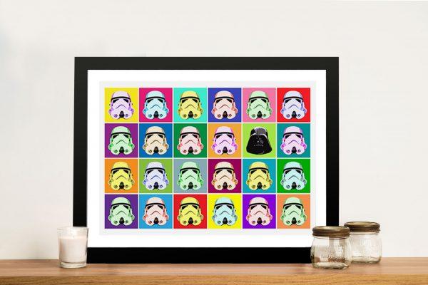 Star Wars Pop art Framed Wall Artwork