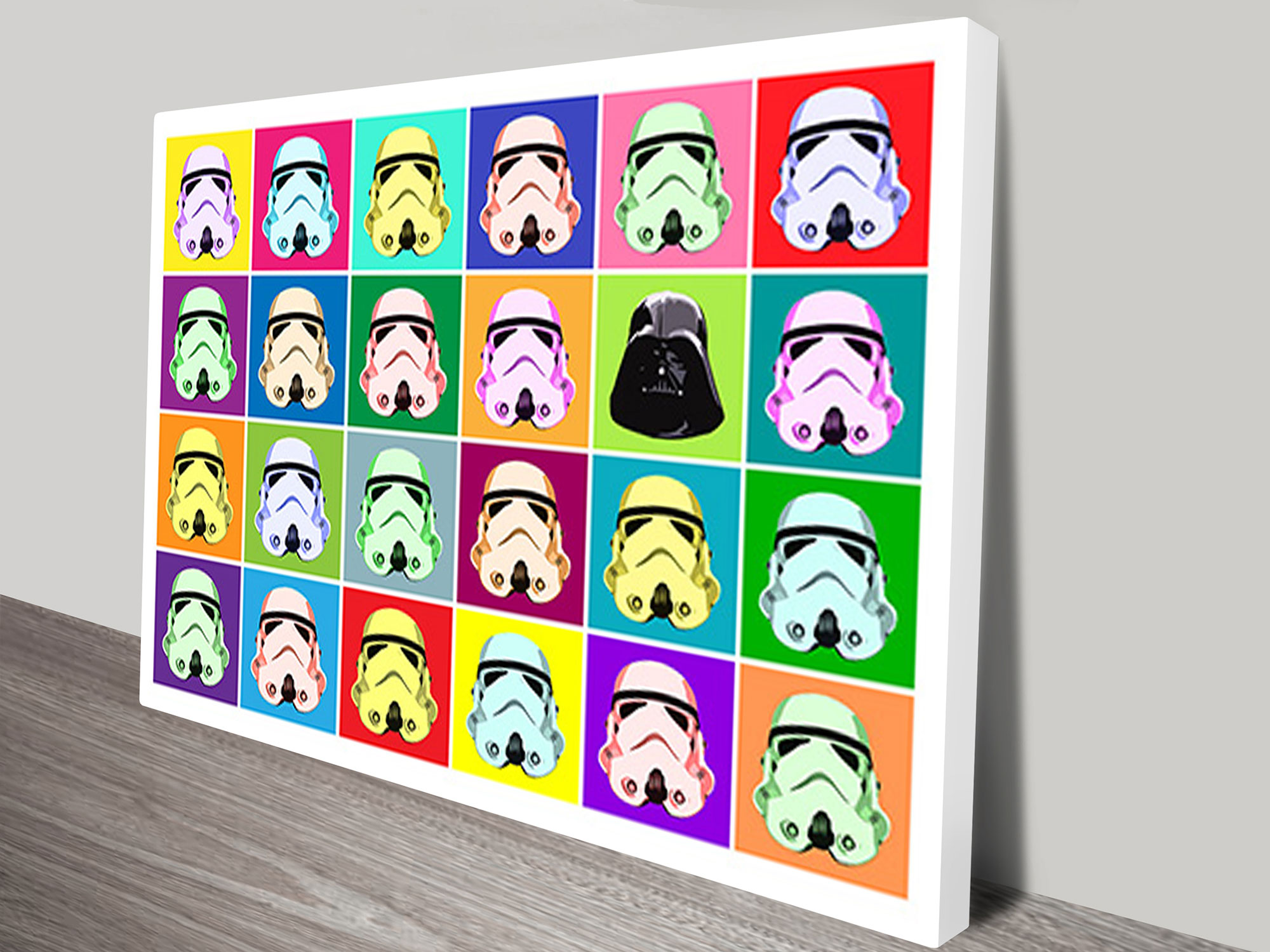 Star Wars Warhol Pop Art Ii Wall Art