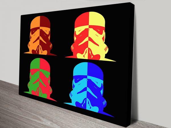 Storm trooper pop art
