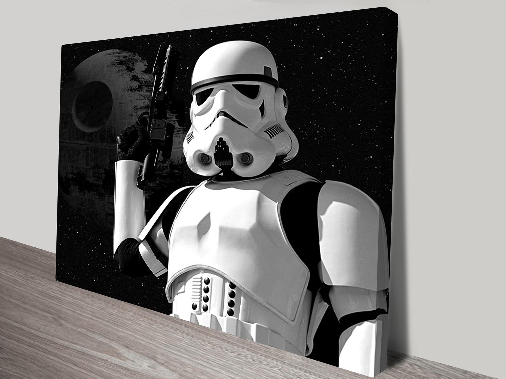 Stormtrooper Art - Canvas Prints Australia