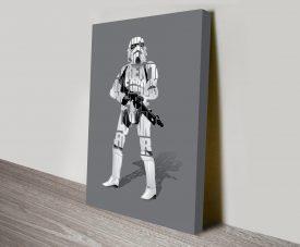 Stormtrooper Typographic