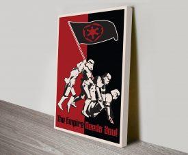 The Empire Needs You Propaganda Style Artwork