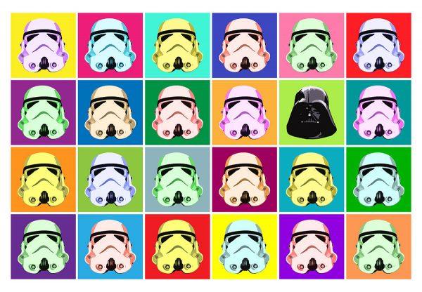 Star Wars Pop Poster Prints Fan Art