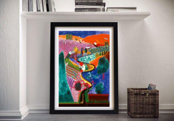David Hockney Key 12 Vintage Pop Art