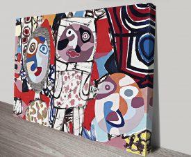 Le Malentendu Jean Dubuffet Wall Art Print