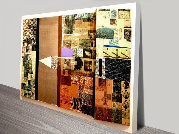 Melic Meeting Robert Rauschenberg Canvas Print Australia