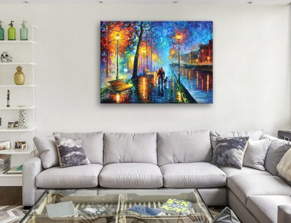 Melody Of The Night Canvas Artwork Sydney