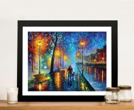 Melody of the night Print Framed Wall Art