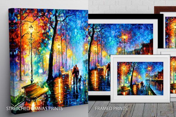 Leonid Afremov Quality Art Print