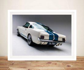 Mustang Blade Framed Wall Art