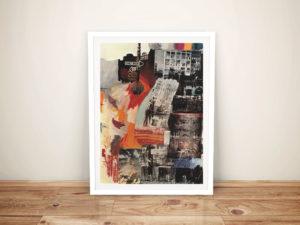 Robert Rauschenberg Estate 1963 Framed Wall Art