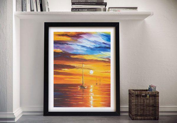 Sea of Movement Framed Wall Art