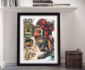 Signs Robert Rauschenberg Framed Fine Art Print