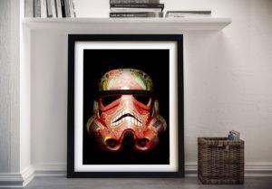 Star Wars Art 4 Framed Wall Art Picture