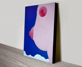 Wesselmann Seascape No.18 Canvas Wall Art Print