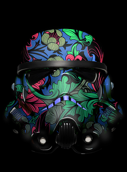 Painted Stormtrooper Canvas Art Print Amp Wall Art Picture