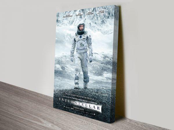 Interstellar Canvas Movie Poster Print for Sale AU