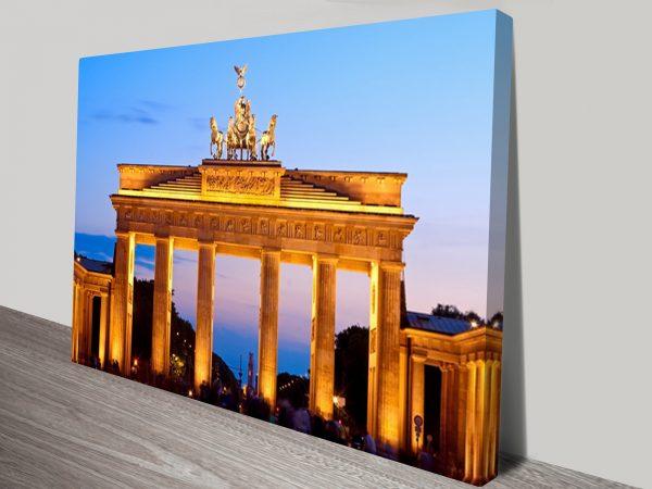 Berlin Brandenburg Gate Canvas Print