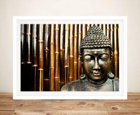 Buddha Face Mask Framed Wall Art