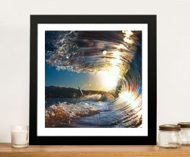Buy Breaking Waves No.2 Framed Seascape Art