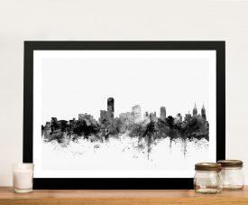 Adelaide-Australia-Skyline-Framed-Wall-Art-Print